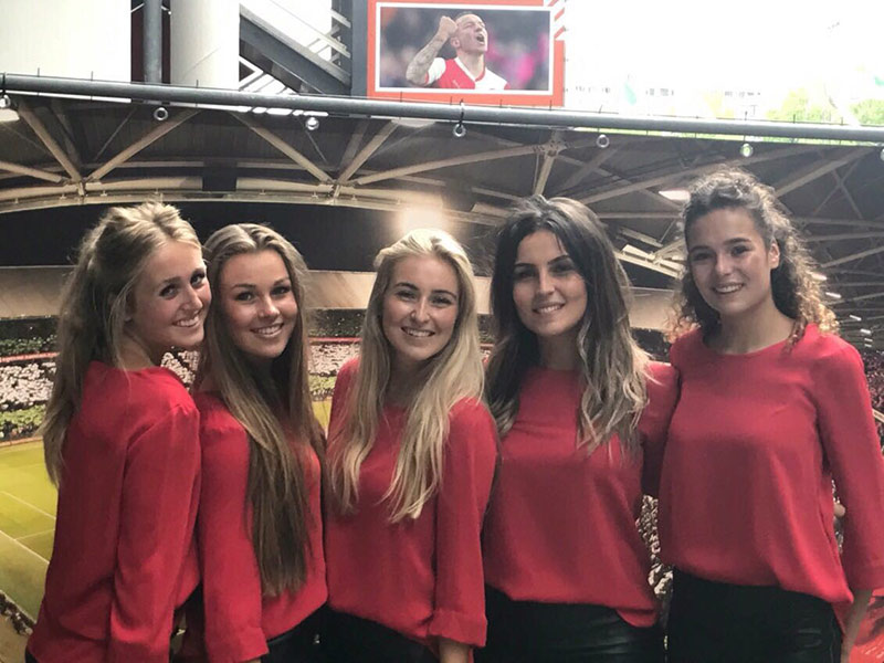 Open dag Feyenoord 2017 met hostesses van GoodDay Hospitality