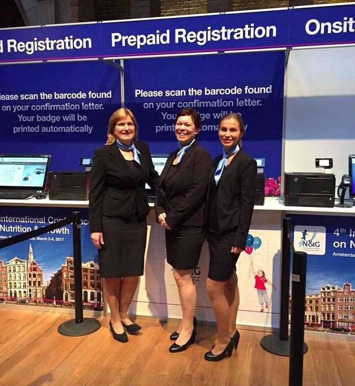 Nutrition & Growth conference 2017 met hostesses van GoodDay Hospitality