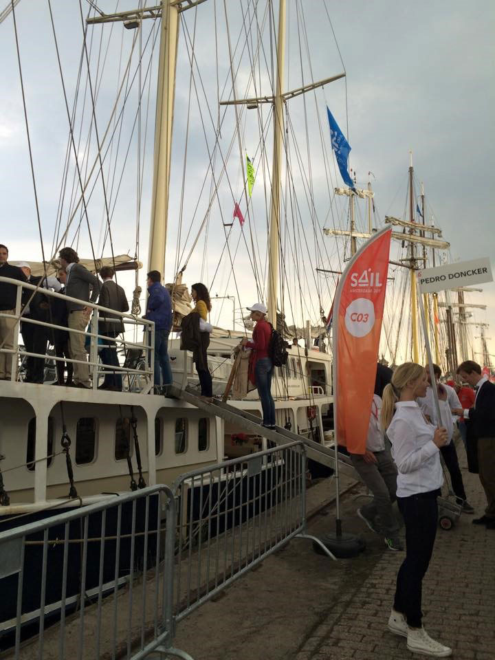 SAIL 2015 met hostesses van GoodDay Hospitality
