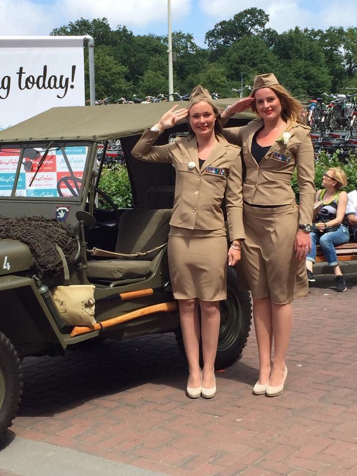 Veteranendag 2016 met hostesses van GoodDay Hospitality