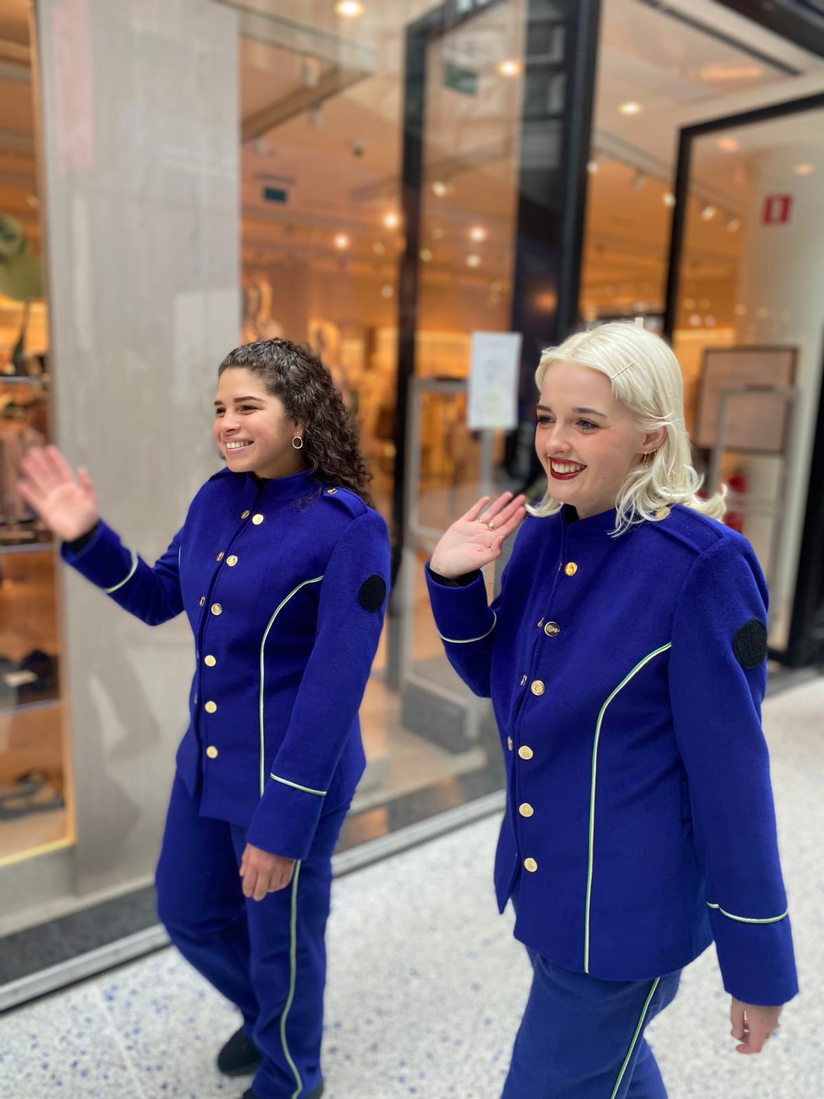 Personeelsfeest Eigen Haard Amsterdam 2017 met hostesses van GoodDay Hospitality